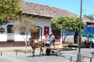 Getting around in Granada, Nicaragua