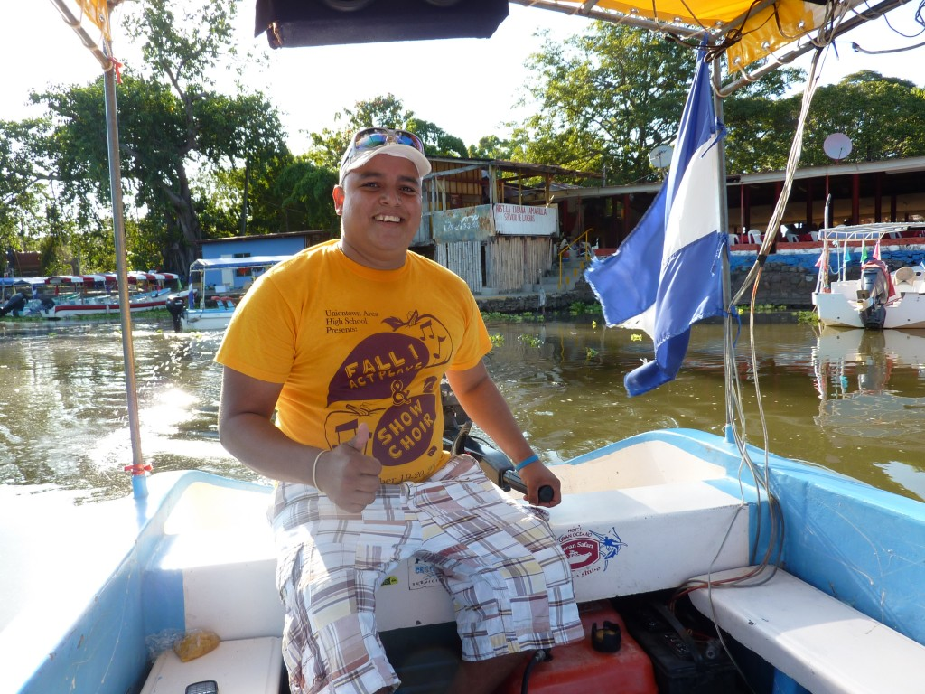 Juan Carlos, our tour guide of Las Isletas