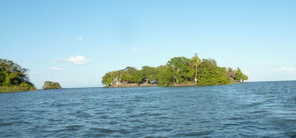 Lago Nicaragua also known as Lake Cocibolca
