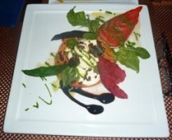 a great appetizer - ensalada caprissi